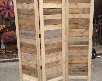 Wood room divider Etsy