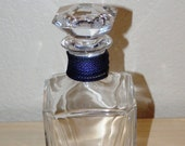 VINTAGE Signed BACCARAT DECANTER, Multi-sided Prism Effect Crystal, Crystal Carafe, Believed to Be Harcourt Pattern, Whiskey Decanter.