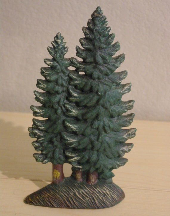 Santas Best Christmas Trees.Santa S Best Christmas In Vermont Ceramic Pine Tree Winter No Box 12 Tall 1994