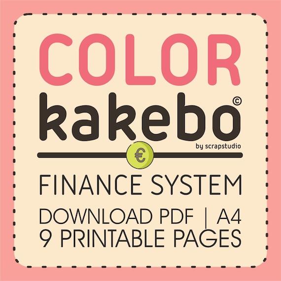 #3 Kakebo pdf stampabile