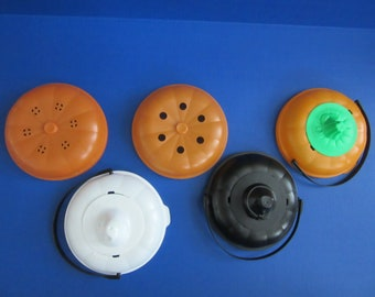 McDonalds Halloween Trick or Treat Boo Buckets Pail Lids sold individually