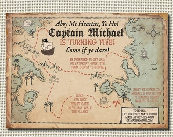 Pirate World Map.Pirate Map Etsy