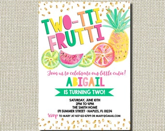 tropical invites etsy