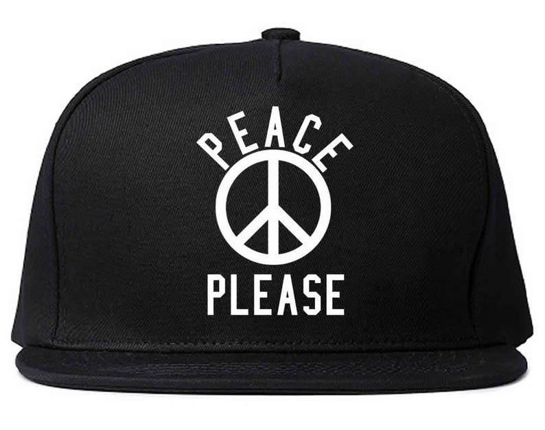 894f0b42a3e30 Peace Please Snapback Hat by Fashionisgreat