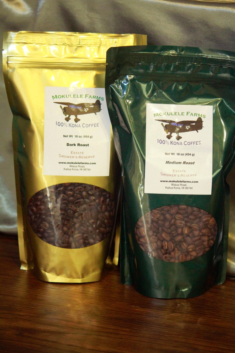 100% Kona Coffee Direct from the Farmer 1 Bag image 0