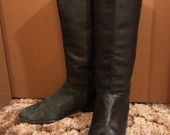 e2137f66cad36 80s riding boots | Etsy