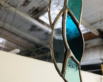 Stained Glass Feather / Ohio Made