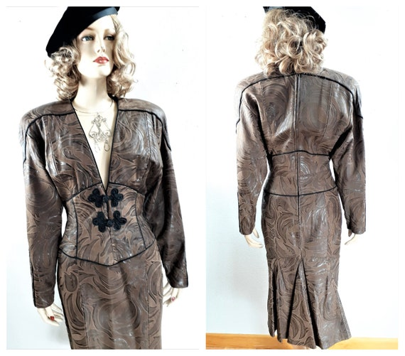 Michael Hobin North Beach Leathers 40's Sexy Dress