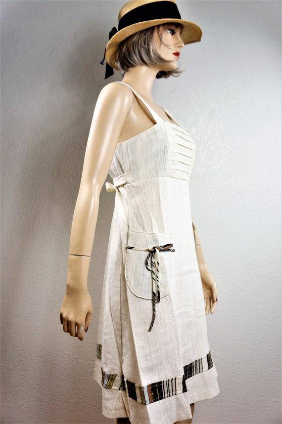 70's Bohemian Peasant Dress - NWT Vng Gunne Sax S… - image 2