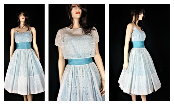 Lace Rockabilly Summer Dress - 50's Full Circle Ey