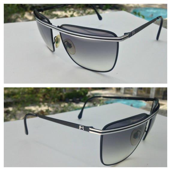 CLEARANCE 80's Italian Couture Aviator Sunglasses