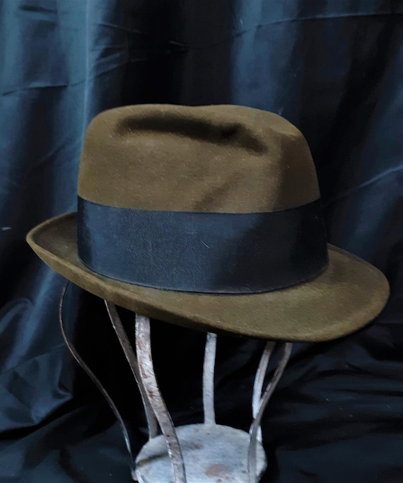 1930's Beaver Fur Fedora Amazing Condition - 30's