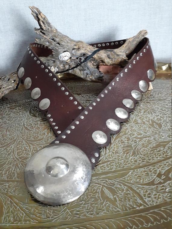Vng Custom Made Wide Scallop Moroccan Belt - Vinta