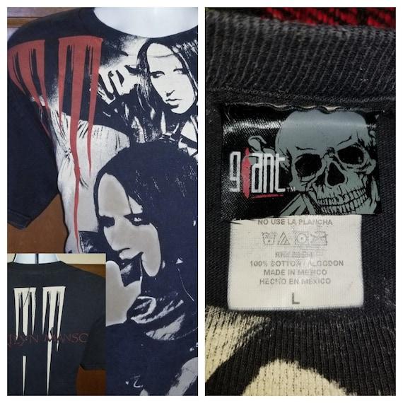 RARE 1990 Marilyn Manson All Over Tshirt - Concert