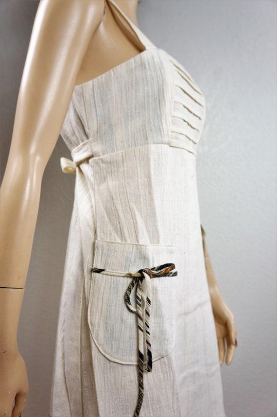 70's Bohemian Peasant Dress - NWT Vng Gunne Sax S… - image 6