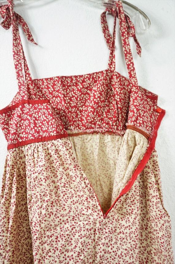 70s Gunne Sax Boho Sundress Style - Hippie Patchw… - image 10
