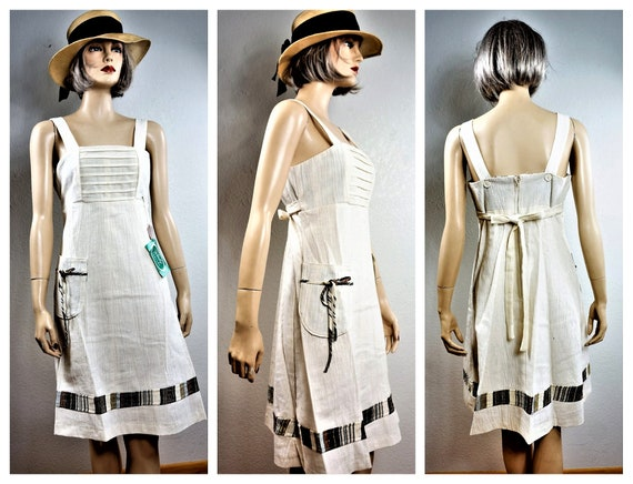 70's Bohemian Peasant Dress - NWT Vng Gunne Sax S… - image 1