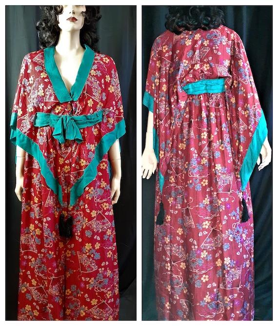 Rare 1900 Silk Gown - Edwardian Trousseau Silk  Dr