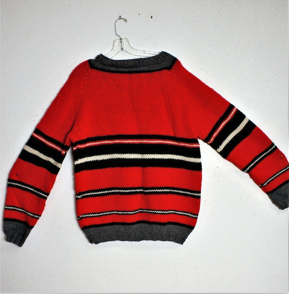 Unworn 50s 60's Over Sized Hand Knit Chunky Boyfri