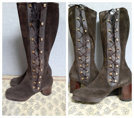 AMAZING CONDITION Vng Penny Lane TallBoots - VTG L