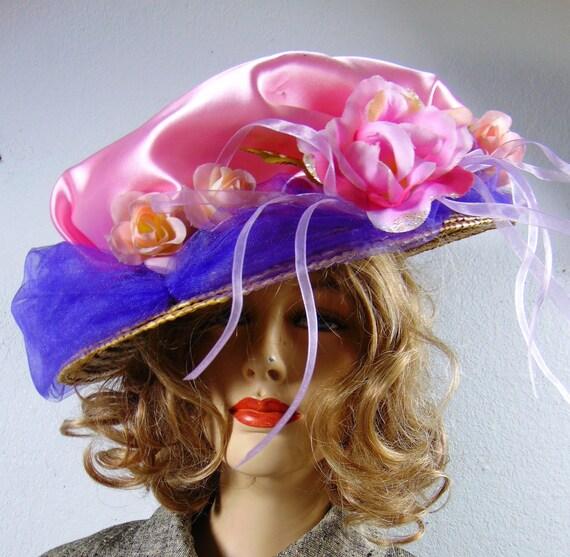 HALLOWEEN EDWARDIAN HAT - Antique Edwardian Fancy