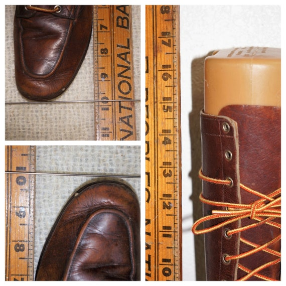 1930's Tall Lace Up Hiking Boots Womens sz 6 - Hi… - image 9
