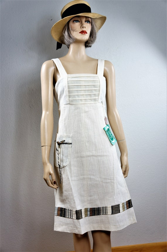 70's Bohemian Peasant Dress - NWT Vng Gunne Sax S… - image 4
