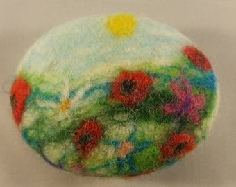 Handmade Felted soap. Made in Edinburgh, Scotland