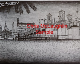 St. Augustine Florida Bridge