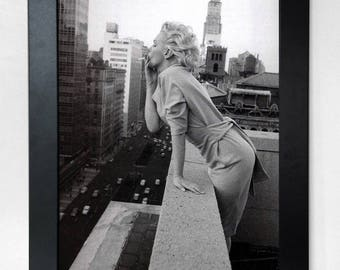 Marilyn Monroe in New York Classic A3 Poster Print Unframed