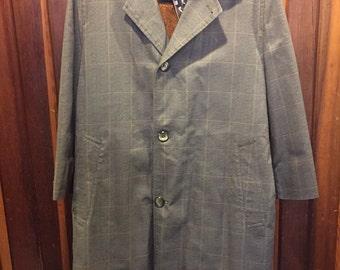 1960S // RAINFAIR RAIN TOPCOATS // Fur Lined Jacket