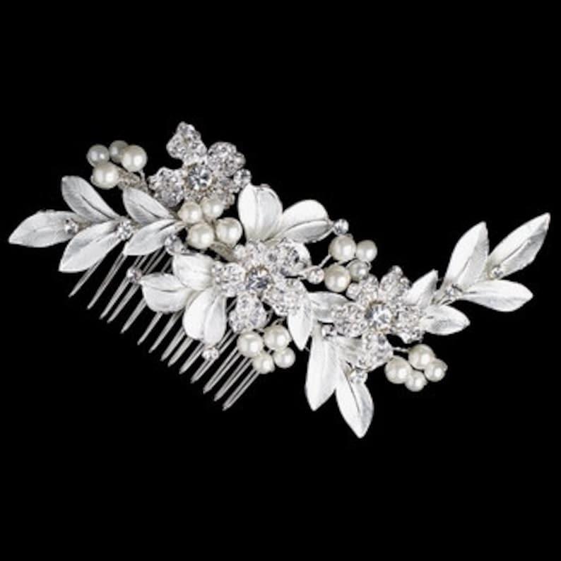 gold wedding hair clip champagne wedding ivory comb wedding crystal hair comb gold champagne bridal hair comb gold bridal comb