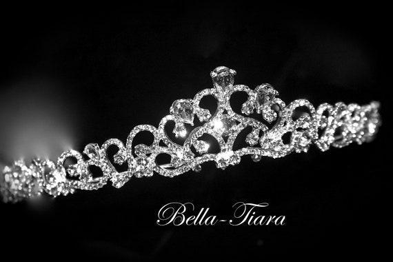 Swarovski Kristall Prinzessin Tiara Kristall Hochzeit Diadem Etsy