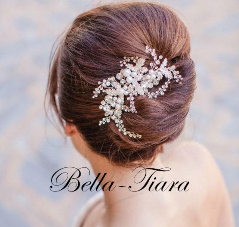 Crystal wedding hair comb pearl bridal comb wedding clip, wedding hair comb pearl hair clip bridal hair clip wedding hair clip