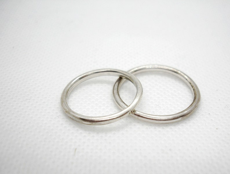 Wedding ring set His and her jewelry His and her promise rings Engagement ring Sterling silver ring Wedding ring set his and her.