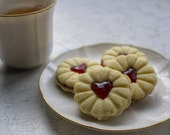Jammie Dodger Heart Shaped Cookie Cutter Set 3D Printed great for