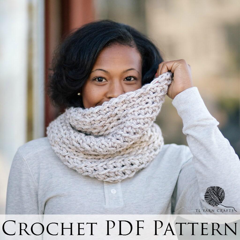 Level 4 Snood Crochet Pattern Wool Free Crochet Cowl Etsy