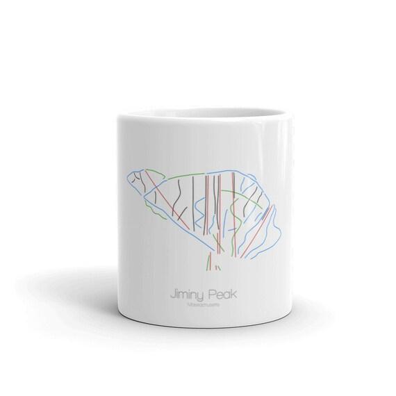 Jiminy Peak Coffee Mug | Ski Coffee Mug | Jiminy Peak Machusetts | on