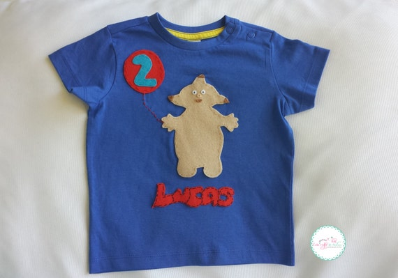 In The Night Garden Shirt Makka Pakka First Birthday