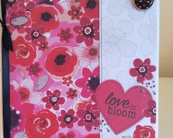 Love in Bloom Valentine Card