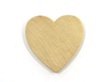 1 inch 250 pack unfinished wood hearts wedding table etsy
