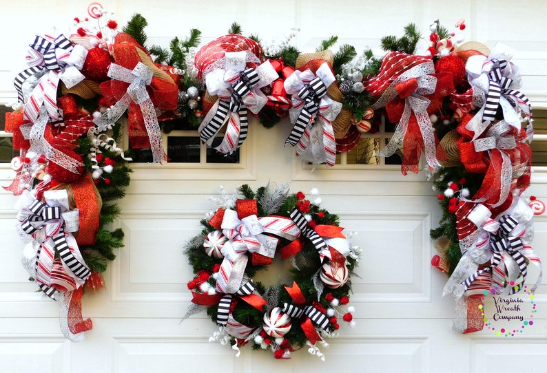Christmas Diy Diy Christmas Wreath Diy Christmas Decor Diy Etsy