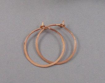 Copper Hoops,Handmade Copper Earrings,Hoop,Earring,Earrings,Gold Earrings,Copper Earring,Hand Made,Copper Jewelry Earrings.SeaMaidenJewelry