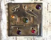 Art Deco Switch Plate, Li...