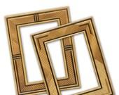 Matchstick Frames, Wood F...