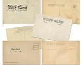 Postcard Downloads, Vinta...