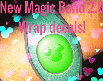 Magic Band 2.0 Glitter Magic Band Skin Decals