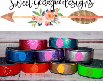 Magic Band 1.0 & 2.0 Glitter Magic Band Skin Decals