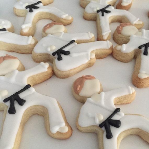 Karate Boy Cookies