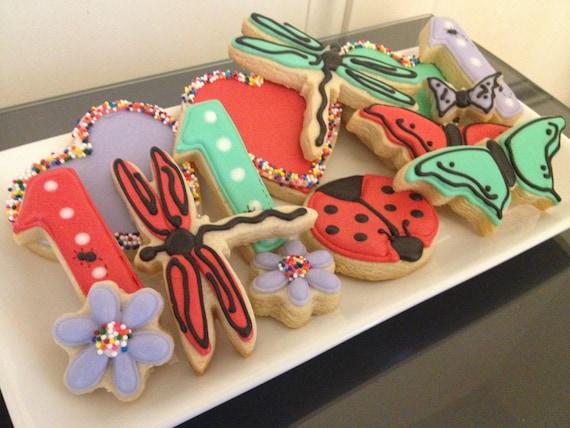 Pretty Bug Cookies
